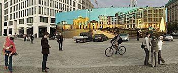 Bauzaun-Poster Berlin