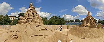 Sandsation Skulptur Niederlande Berlin