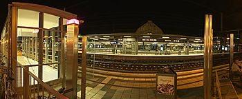 Bahnsteig Ostwestfalenplatz Bielefeld