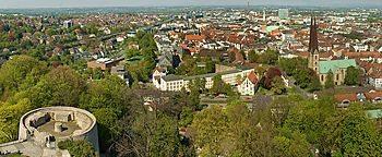 Blick auf Bielefeld  Bielefeld