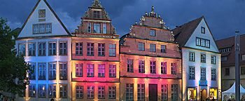 Fassadenbeleuchtung Bielefeld