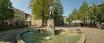 Leineweberbrunnen Bielefeld