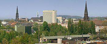 Blick über Bochum Bochum