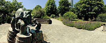 Blindenbrunnen Rheinaue  Bonn