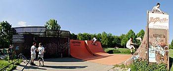 Skateboardbahn Rheinaue  Bonn