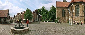 Kirchplatz  Bramsche