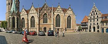 An der Martinikirche  Braunschweig