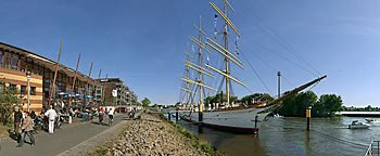Schulschiff Deutschland  Bremen Vegesack