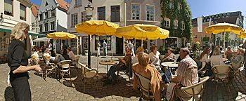 Straßencafé  Bremen