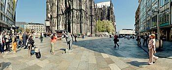 Domplatte  Köln