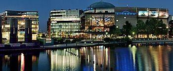 Mediapark am Abend  Köln