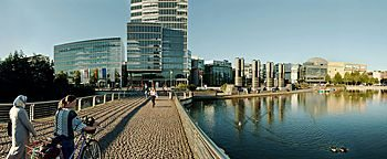 Mediapark Brücke  Köln