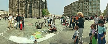 Straßenmaler Köln