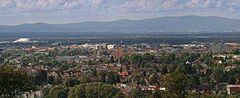 Blick auf Darmstadt  Darmstadt