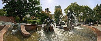 Gauklerbrunnen Dortmund