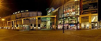 Hansaplatz bei Nacht Dortmund