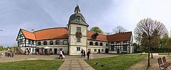 Wasserschloss Haus Rodenberg  Dortmund