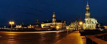 Augustusbrücke Dresden