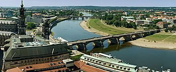 Blick auf Dresden  Dresden