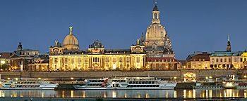 Dresden am Abend  Dresden