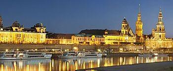 Dresden bei Nacht  Dresden