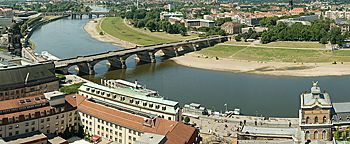 Elbe Dresden  Dresden