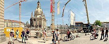 Frauenkirche Baustelle Dresden