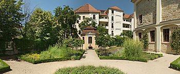 Hinterhof-Garten Dresden