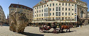 Kutschfahrten-Startplatz Dresden