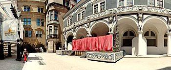 Theaterbühne  Dresden