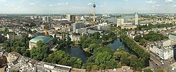 Blick auf Düsseldorf  Düsseldorf