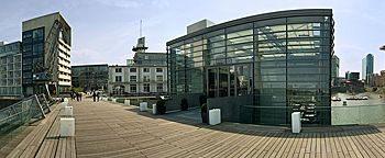 Brückenhaus Medienhafen Düsseldorf