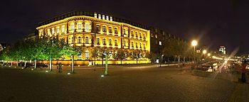 Burgplatz Nacht Düsseldorf