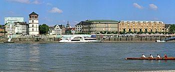 Düsseldorf Blick Düsseldorf