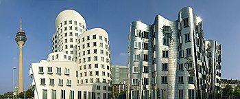 Gehry-Bauten Medienhafen Medienhafen Düsseldorf