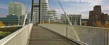 Hafenbrücke Medienhafen Düsseldorf