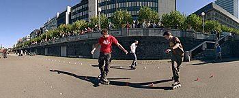 Inline-Skater Düsseldorf