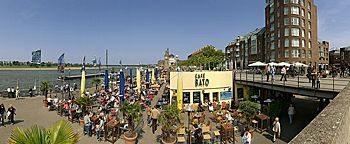 Rheinufer-Cafe Düsseldorf