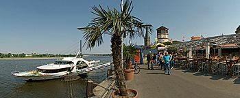 Rheinufer-Promenade Düsseldorf