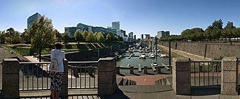 Yachthafen-Terrasse Medienhafen Düsseldorf