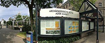 arch ologische zone alter markt duisburg. Black Bedroom Furniture Sets. Home Design Ideas