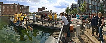 Drachenbootrennen Innenhafen Duisburg