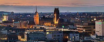 Duisburg am Abend