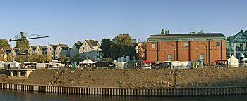 Marinamarkt InnenhafenDuisburg