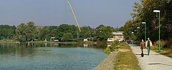 Parallelkanal Sportpark Wedau Duisburg