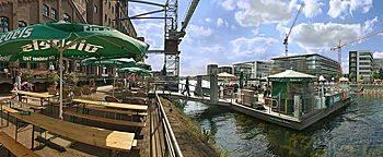Ponton-Biergarten ::: Duisburg