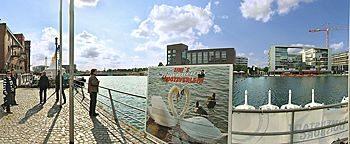 Schwantretboote InnenhafenDuisburg