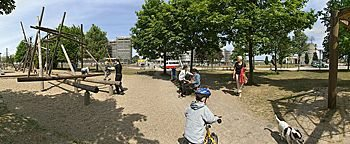 Spielplatz Altstadtpark ::: Duisburg