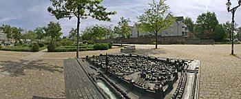 Stadtmodell Altstadtpark Duisburg