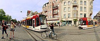 Stadtbahn  Erfurt